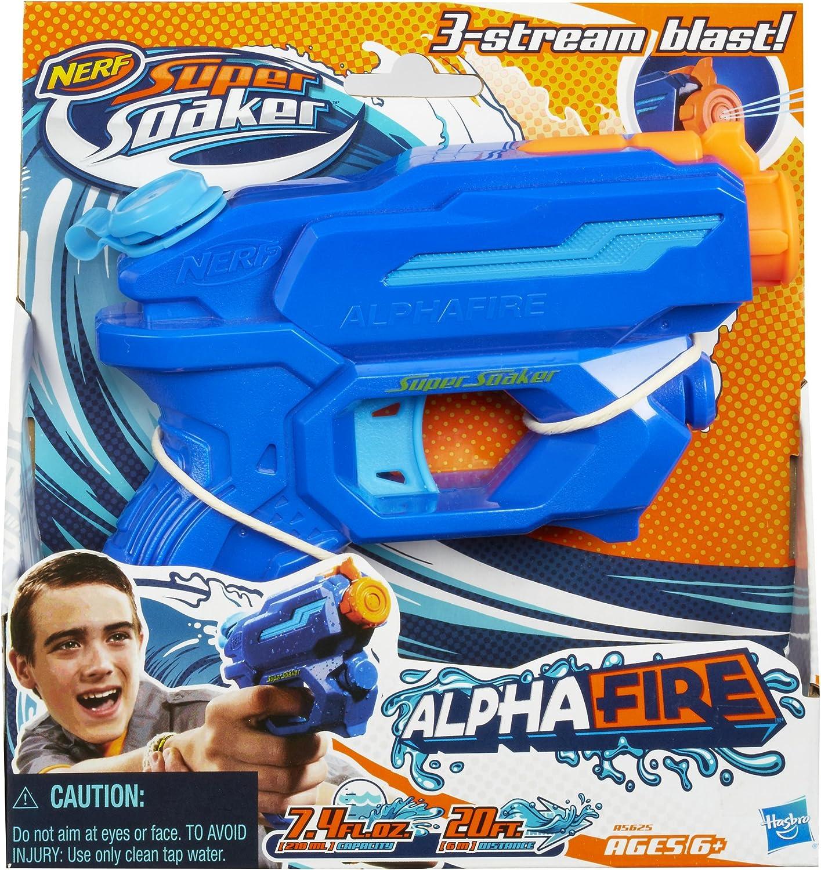 Super Soaker Nerf Alphafire Blaster