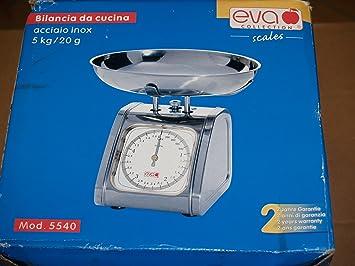 Oferta Eva Collection 033066 Báscula de cocina acero inoxidable 5 kg/20g