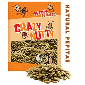 Natural Pepitas - 2 Pound - Raw, Fresh, No Preservative, Vegan, Gluten Free, Super Food