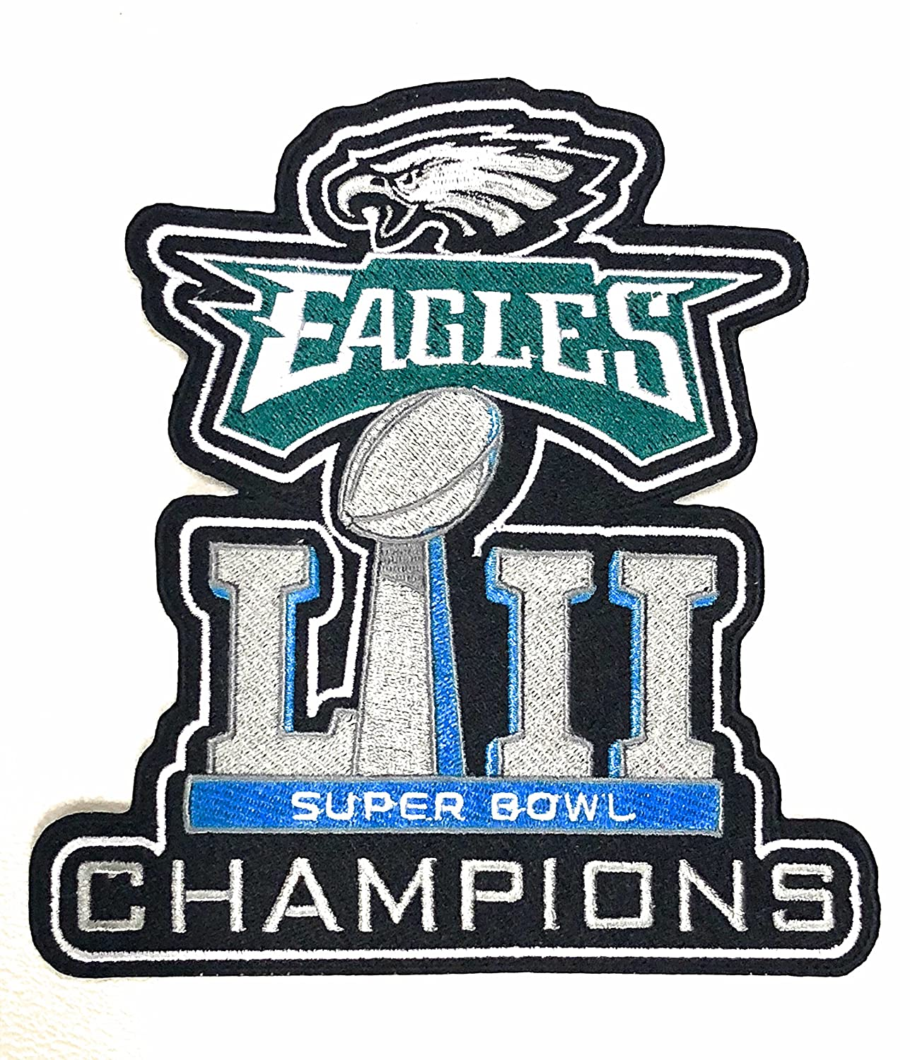 quality design f57cb 76ff7 Amazon.com : Football 2018 Super Bowl 52 LII Eagles ...