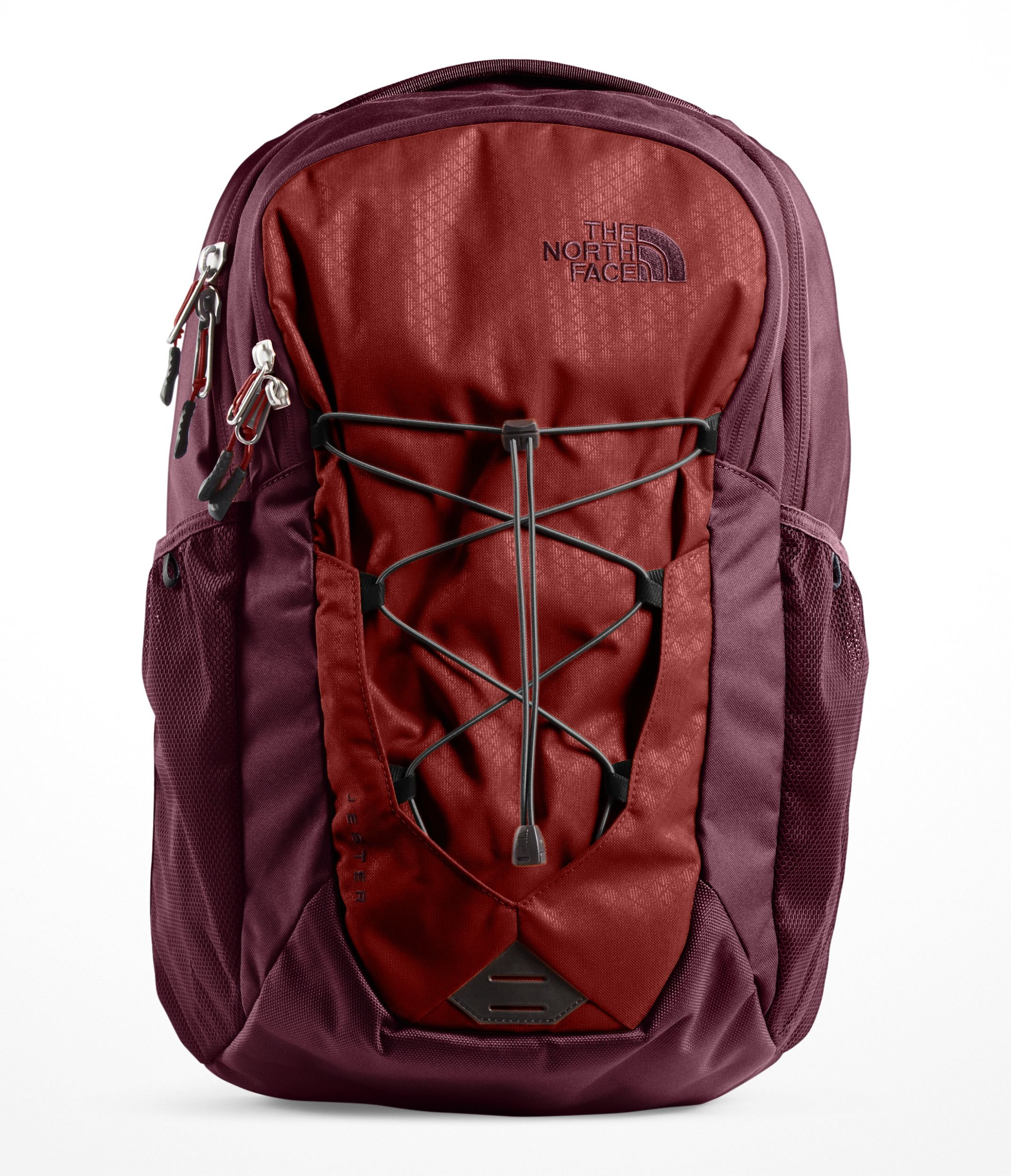The North Face Jester Backpack, Caldera Red/Sequoia Red by The North Face
