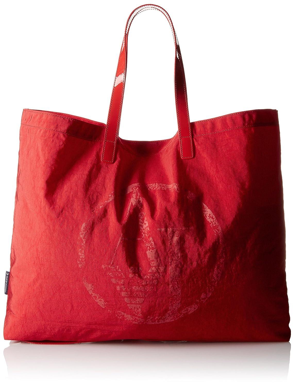 Armani Jeans Foldable Tote Bag