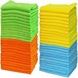 "50 Pack - Simple Houseware Microfiber Cleaning Cloth (12"" x 12"")"