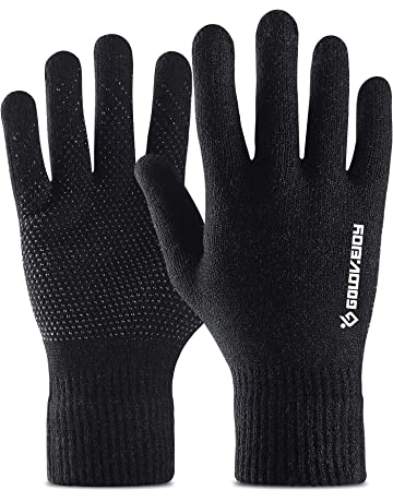 bd186d6365b Golovejoy Running Gloves Winter Warm Touchscreen gloves Cycling Gloves for  Outdoor Sports as Working Riding Climbing