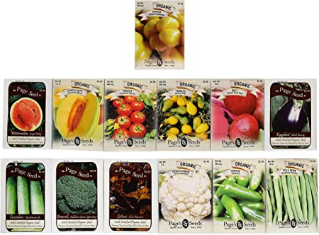 25 Deluxe Variety Premium Vegetable /& Herb Garden 100/% Non-GMO Heirloom Set of 25 Premium Vegetable /& Herb Seeds