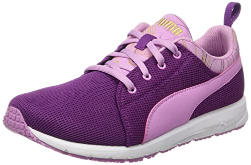 Puma Carson Marble Outdoor, Zapatillas de Deporte Exterior para Niñas, Violeta, 38 EU: Amazon.es: Zapatos y complementos
