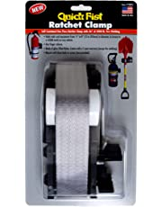 """Quick Fist 70070 Ratchet Clamp for Mounting Tools & Equipment, 1/2"""" to 8"""" in Diameter"""