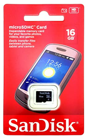 NUEVO DISEÑO DE CLASE 4 DE 16 GB CLASE 4 TARJETA MICRO-SD ...