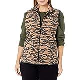 Amazon Essentials womens Plus Size Full-Zip Polar Fleece Vest Fleece Vest