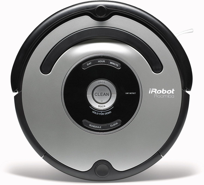 iRobot Roomba 555 - Robot aspirador (diámetro 34 cm, autonomía 120 ...