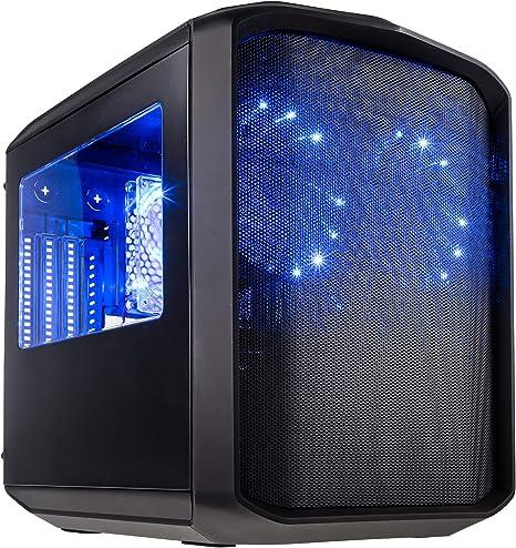 Kolink Sanctuary Micro-ATX Cube Case - Funda para Videojuegos, Color Negro: Amazon.es: Informática