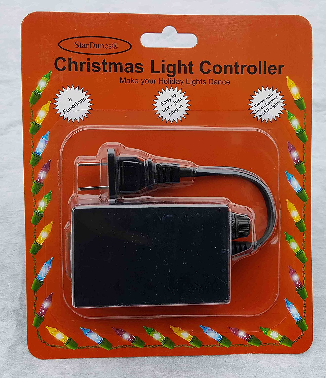 Stardunes Christmas Light Controller Home Kitchen Led Chaser The Leds In This Circuit Produce A Chasing Pattern