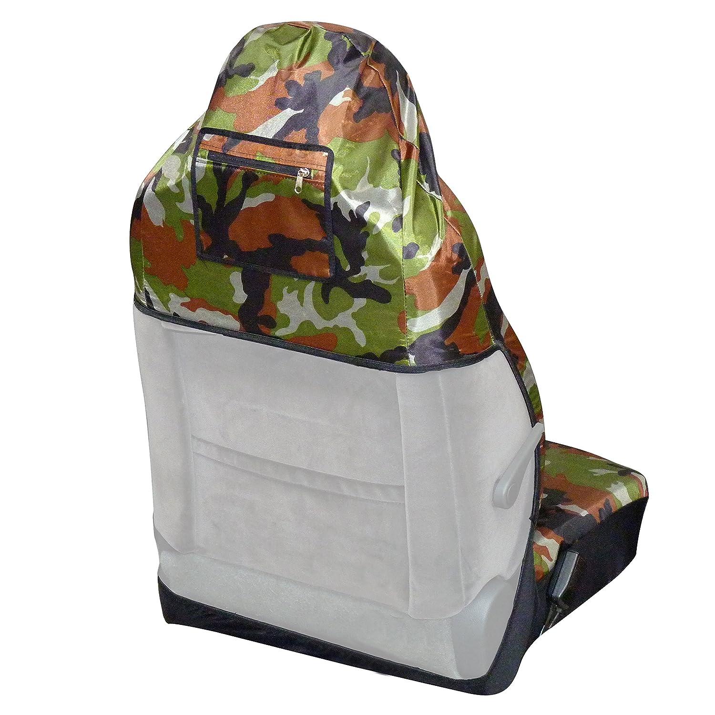 ROAD CLUB Housse de protection pour si/ège avant auto express universelle decors camouflage chasse et p/êche
