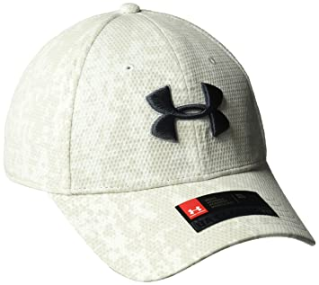 Under Armour Mens UA Print Blitzing Gorra, Hombre, Blanco, ...
