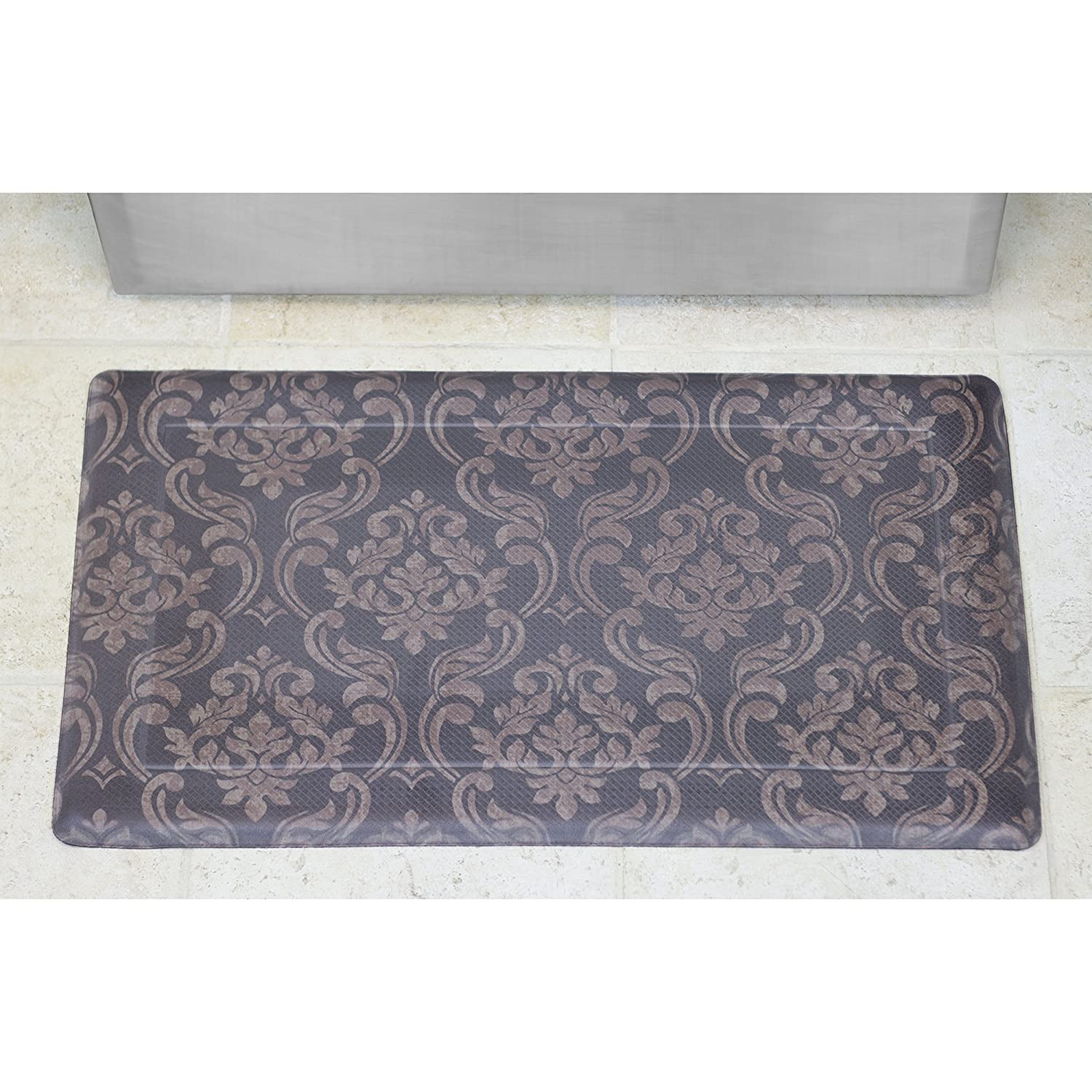 chef gear chain damask anti fatigue fort memory