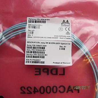 Amazon.com: Mellanox Technologies mfa1 a00-e003 linkx ...