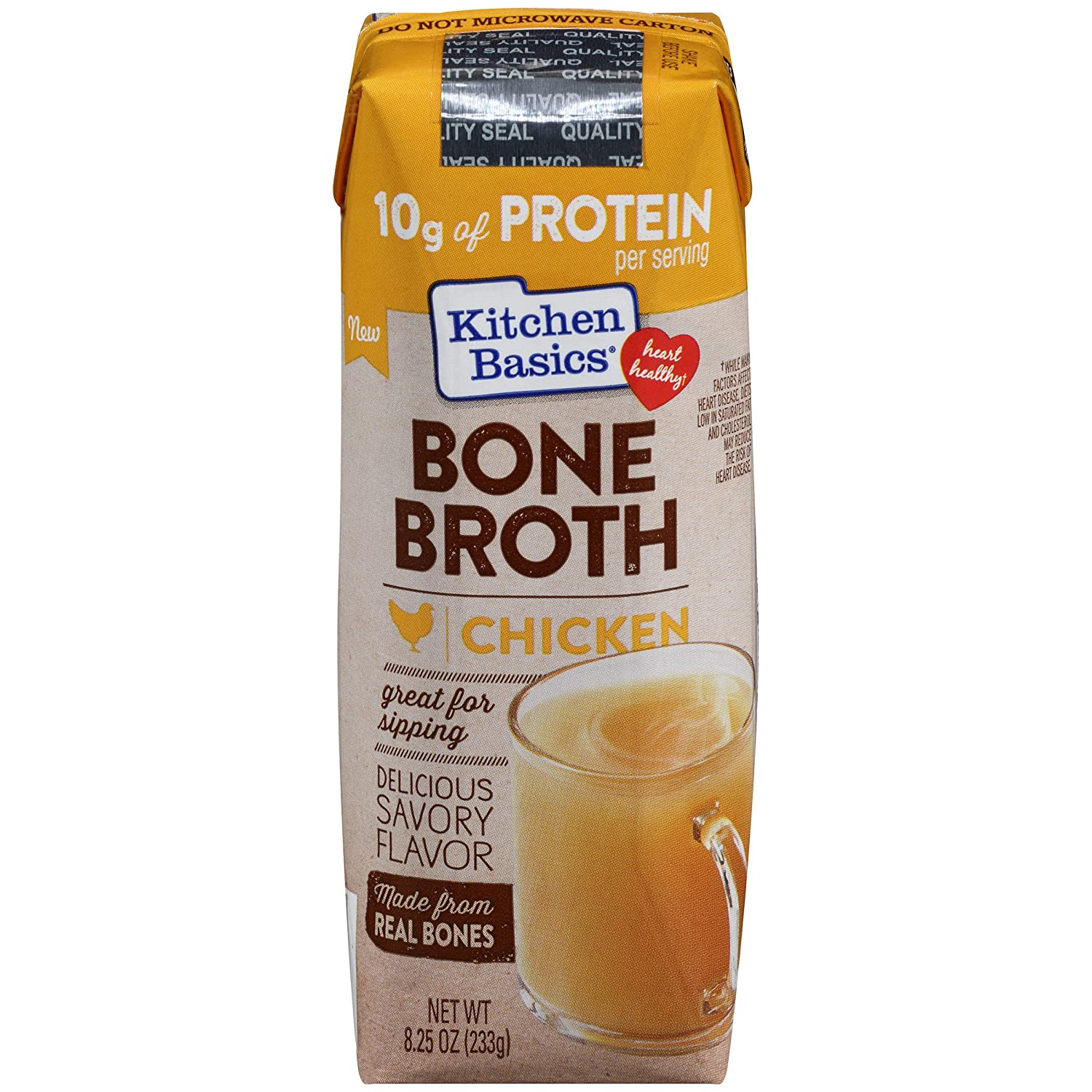 Kitchen Basics Original Chicken Bone Broth, 8.25 oz