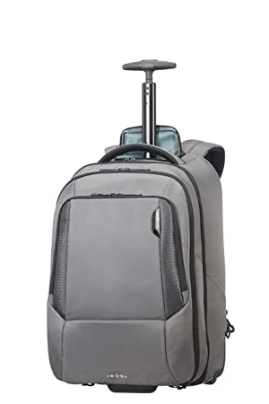 SAMSONITE Cityscape - Tech Laptop Backpack with Wheels Mochila Tipo Casual 48 Centimeters 30 Gris (Steel Grey): Amazon.es: Equipaje