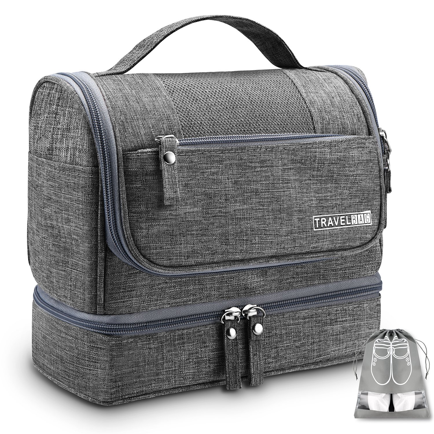 Amazon.com   Travel Hanging Toiletry Bag Toiletries Kit Organizer ... 26cce5a30a2a1