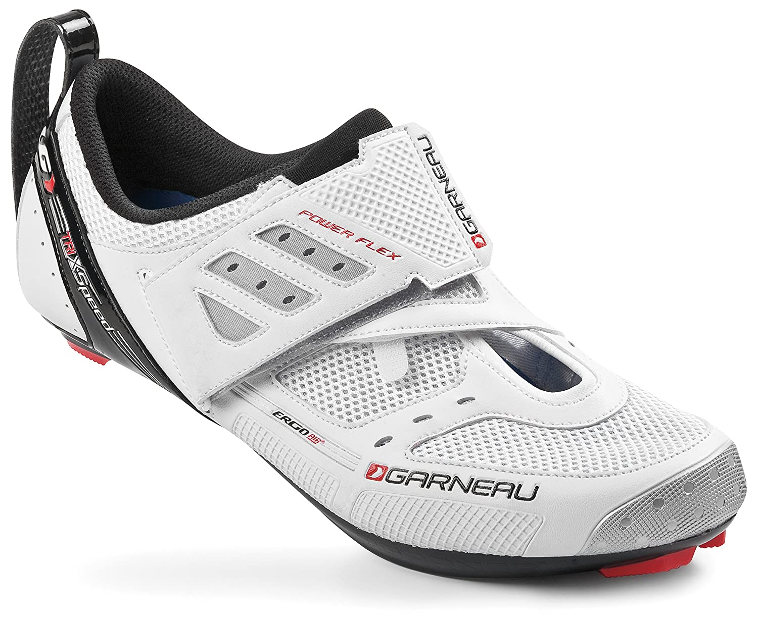 Tri X-Speed II Triathlon - Zapatillas de ciclismo, color blanco, talla 45: Amazon.es: Deportes y aire libre