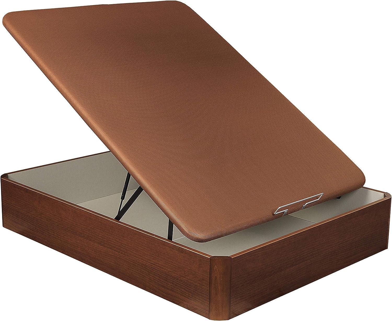 Abatible Canapé de madera Basic 3 Cerezo – Sunlay 135x182 cm ...
