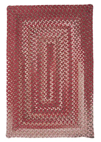 Gloucester Rectangle Area Rug, 4 by 6-Feet, Rhubarb