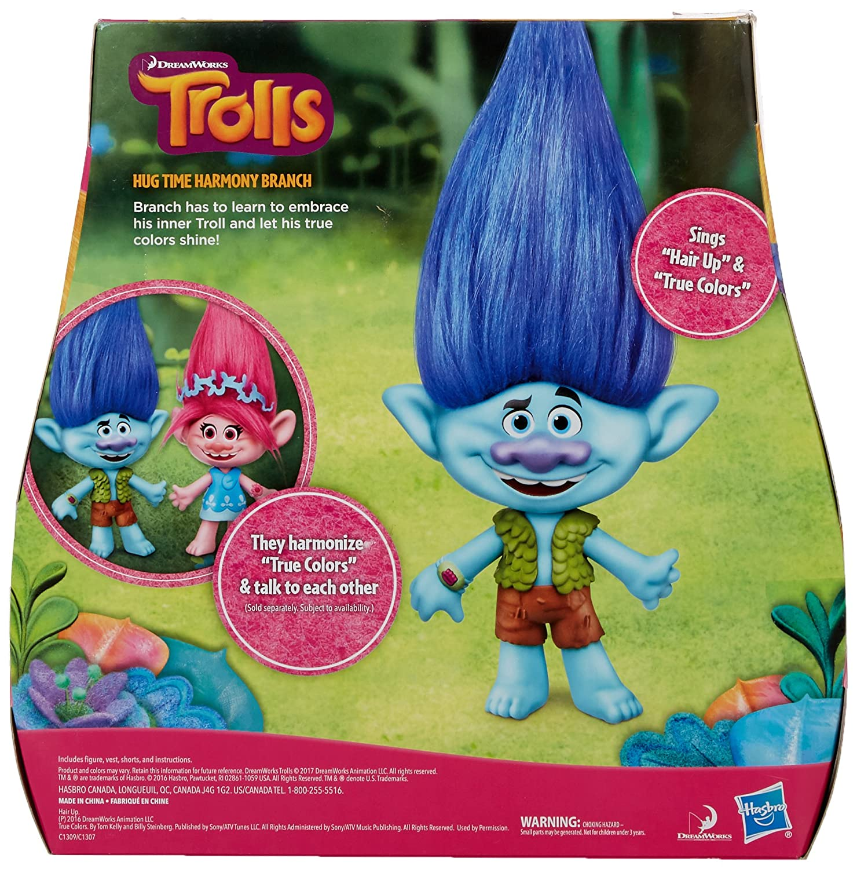 Trolls DreamWorks Branch Hug Time Harmony Figure Hasbro C1309 ...