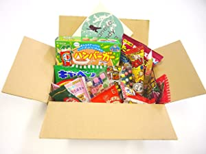 16 Japanese Candy and Snack Okashi Set with original Japanese Candy Ninja sticker