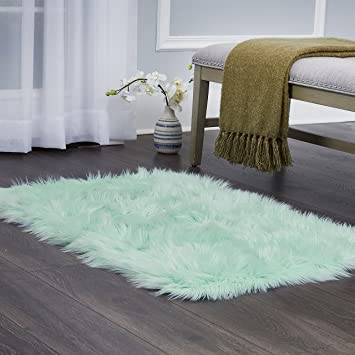 "Home Dynamix Elle Kids Arctic Polar Area Rug 23.6""X35.4\"", Textured Mint by Home Dynamix"