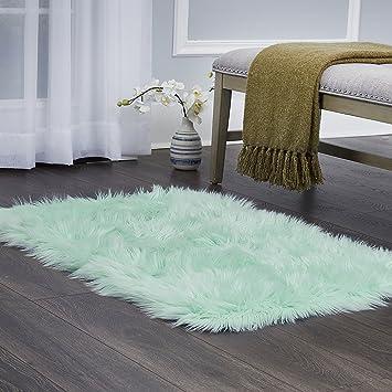 "Home Dynamix Elle Kids Arctic Polar Area Rug 23.6\""X35.4\"", Textured Mint by Home Dynamix"