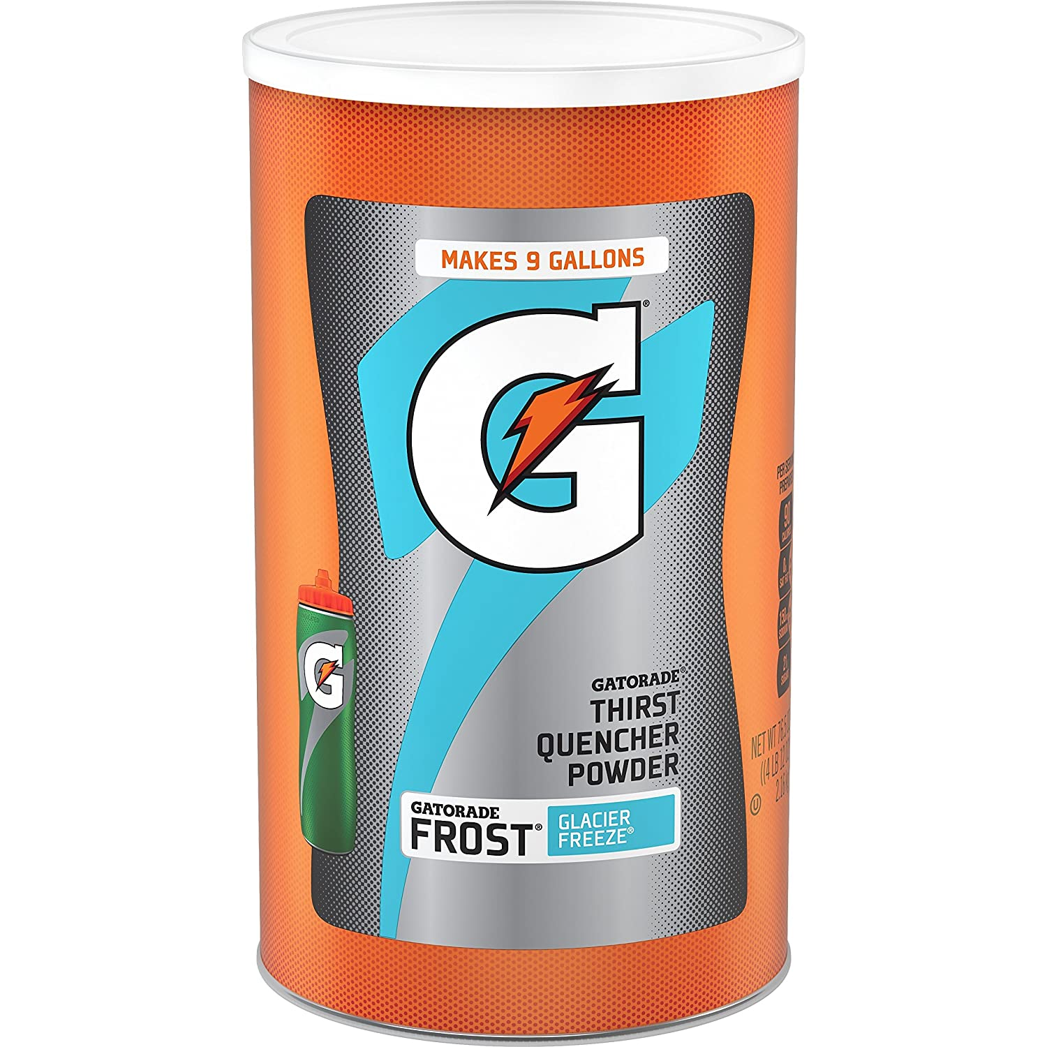 Gatorade Thirst Quencher Powder, Frost Glacier Freeze, 76.5 Ounce, Pack of 1