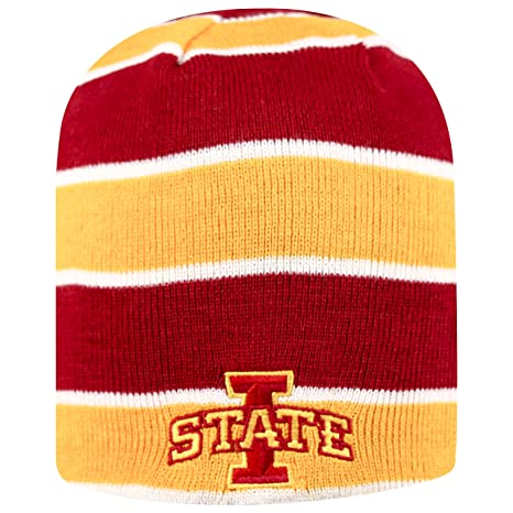 db8f2801690 Image Unavailable. Image not available for. Color  Iowa State Cyclones Knit  Toboggan Reversible Winter Hat