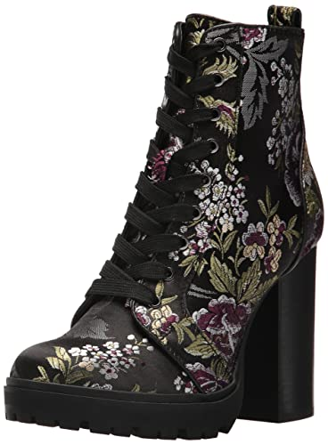 ebf9149e8df Steve Madden Women s Laurie Combat Boot Floral Multi 6 ...