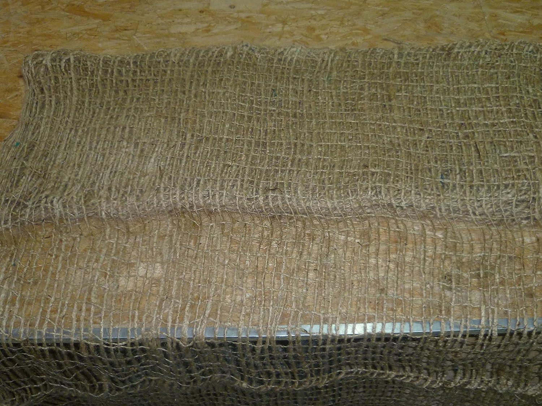Aquagart® Böschungsmatte Jute Jutegewebe 500g/m² 1,2m breit Ufermatte für die Teichfolie verschiedene Abmaße (Jute, 15m)