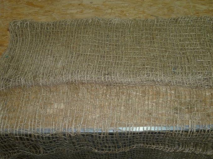 B/öschungsschutz//Erosionsschutz 100 Qm B/öschungsschutzgewebe aus Jute