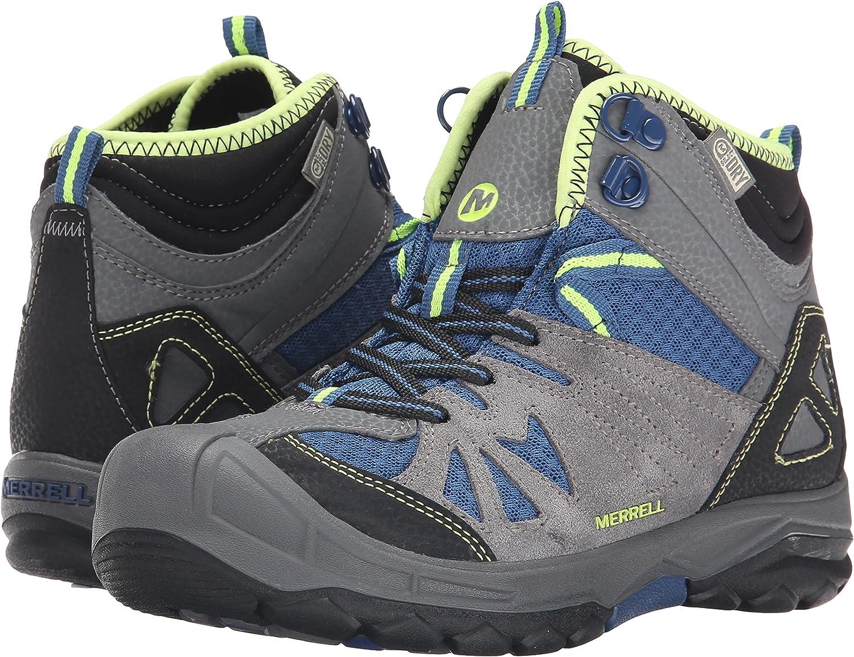 Zapatos de High Rise Senderismo para Ni/ños Merrell Capra Mid WTPF