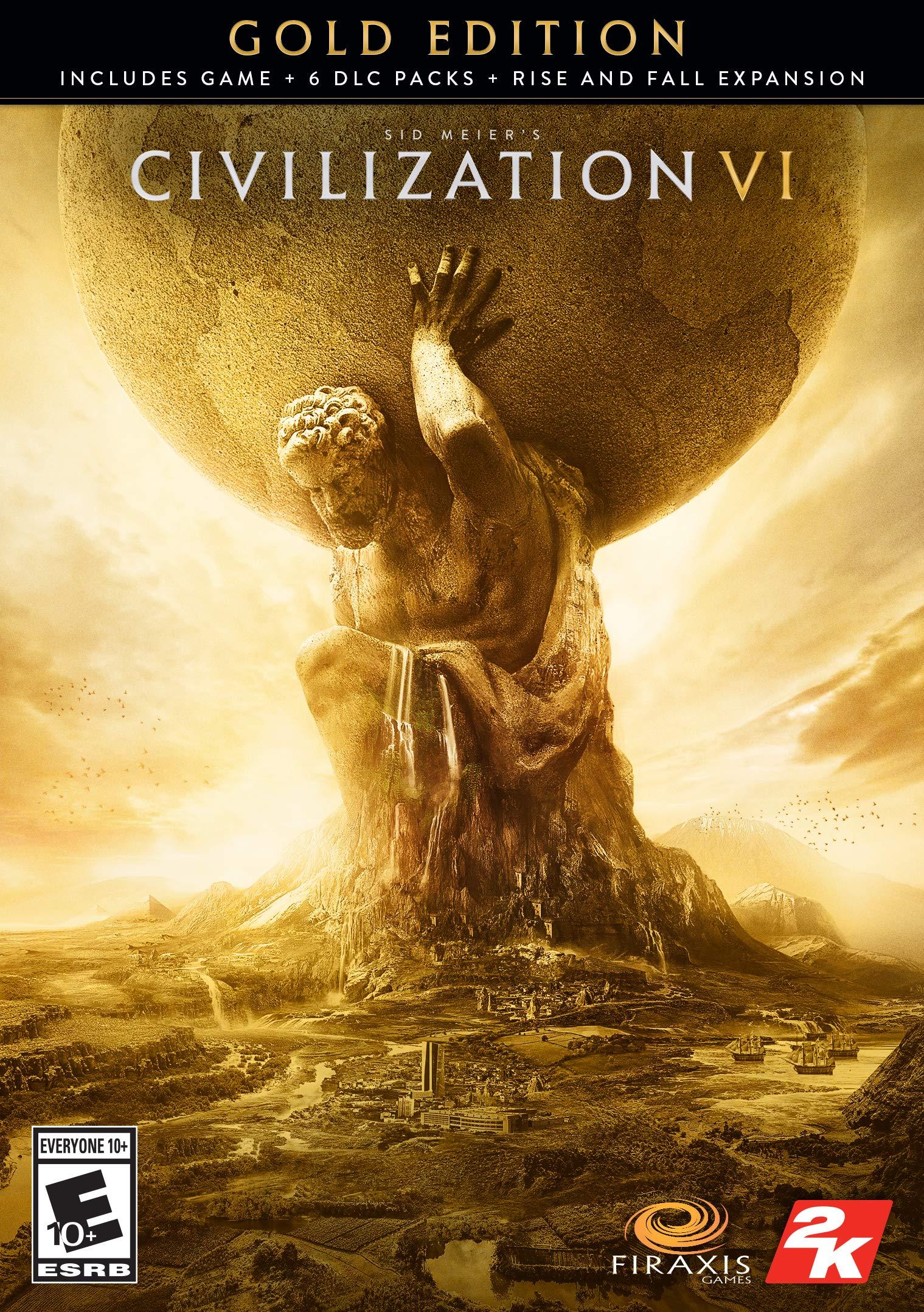 Sid Meier's Civilization VI Gold Edition [Online Game Code]