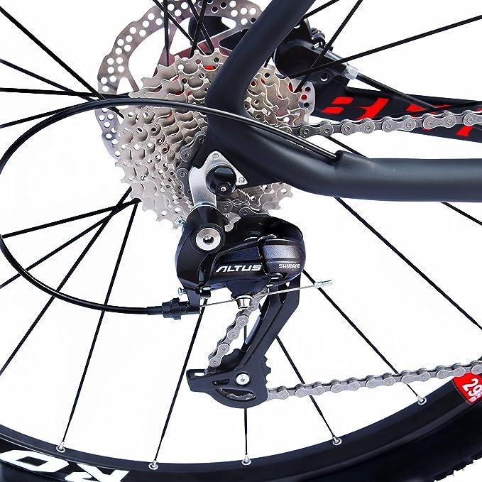 e20b62b1d Amazon.com   BEIOU Carbon 29 Inch Mountain Bike 29er Hardtail Bicycle 2.10