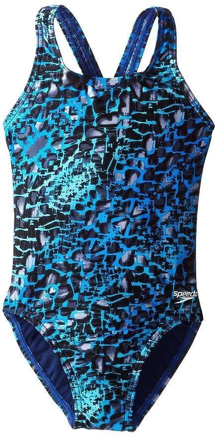 d0811b8b13800 Amazon.com  Speedo Big Girls  Shatter Skin Youth Superpro Swimsuit ...