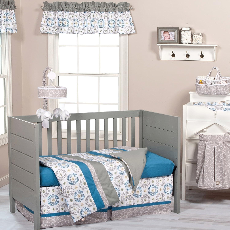 Monaco 3 Piece Baby Crib Bedding Set by Trend Lab by Trend Lab   B00X6X8RLC
