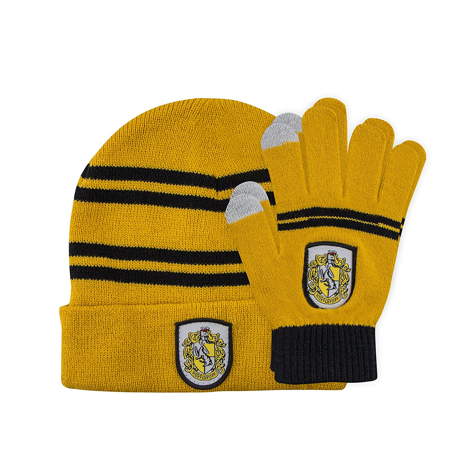 Harry Potter Kids Beanie and Gloves Set - Knitted Cap - Touchscreen Gloves 3