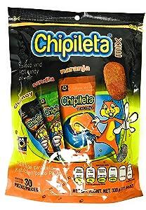 Chipileta Mix Lollipop and hot candy powder