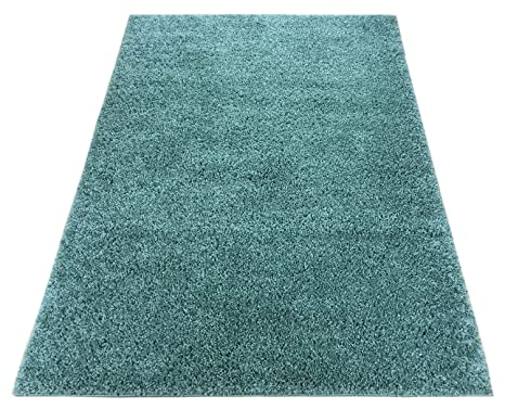 Amazon Com Shaggy Collection Solid Color Shag Rug Area Rugs
