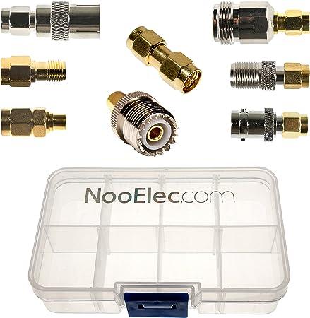 Nooelec Sma Adapter Connectivity Kit Set Von 8 Elektronik