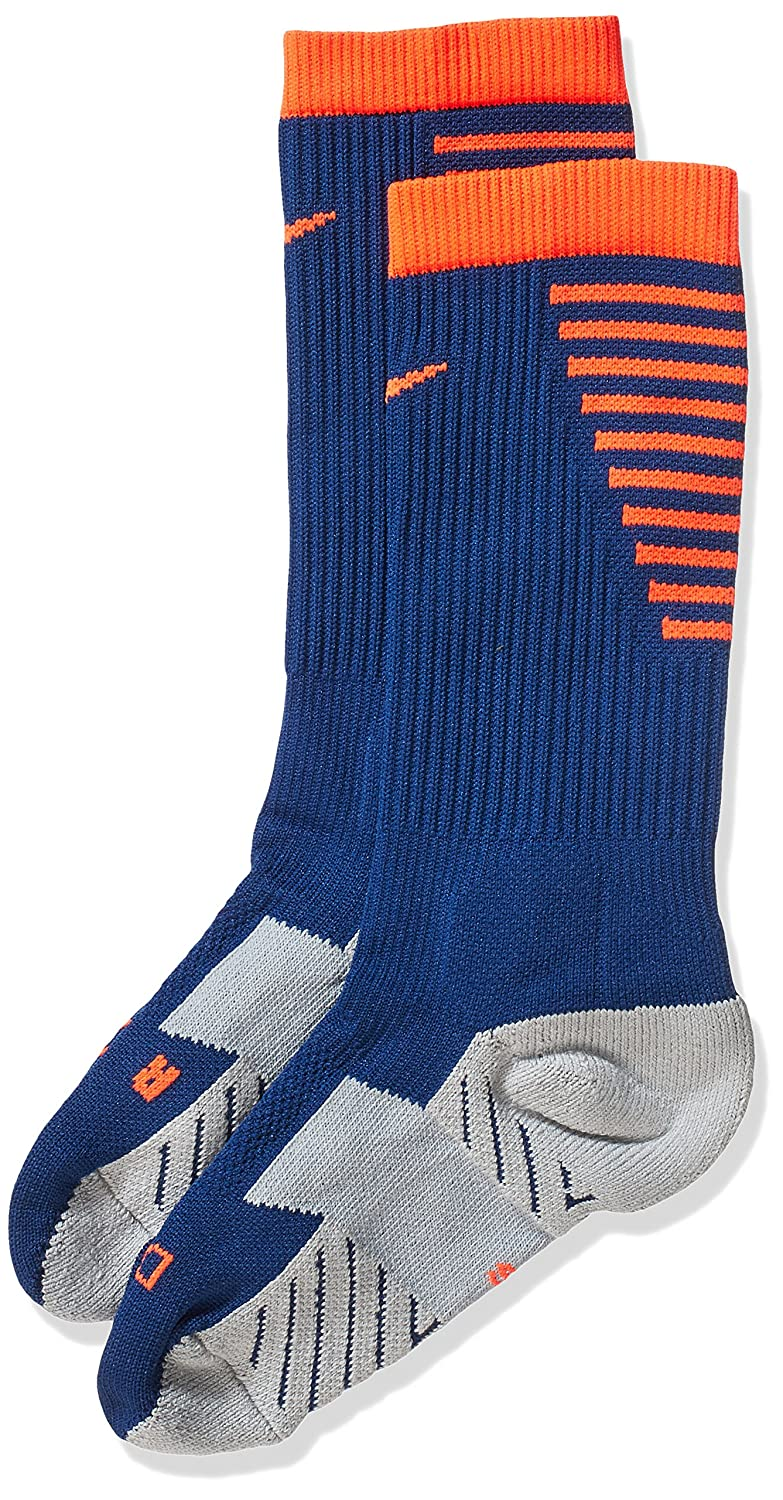 Nike Stadium Football Crew (X Calcetines, Hombre, Azul (Coastal Blue Total Crimson), S: Amazon.es: Deportes y aire libre