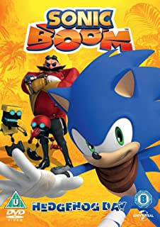 sonic boom volume 2 hedgehog day dvd - Sonic Hours Christmas Day