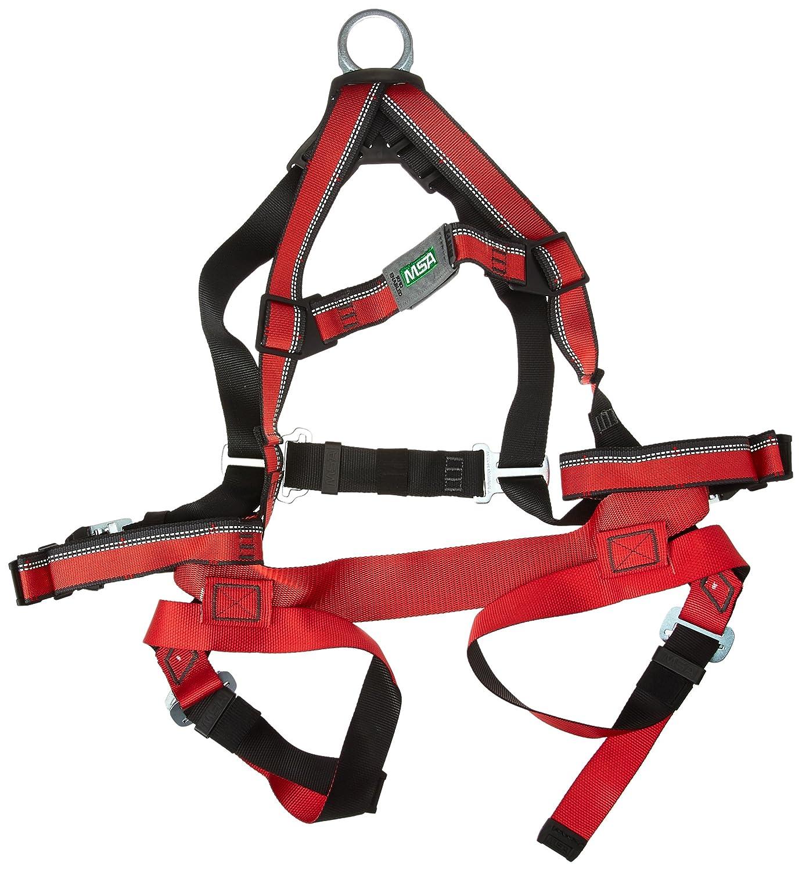 MSA Safety 10105890 Evotech arnés con D-Ring de espalda, qwik-fit ...