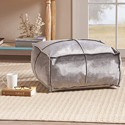 Pleasant Amazon Com Giant Bean Bag Chairs For Adults Smoke Velvet Bralicious Painted Fabric Chair Ideas Braliciousco