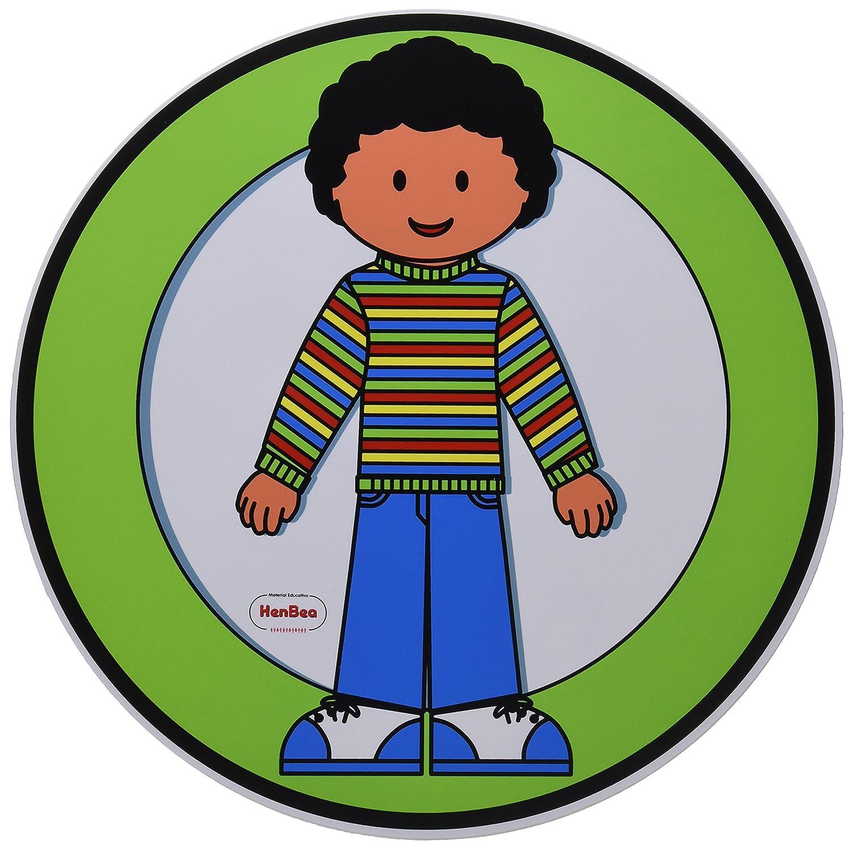Henbea - Carteles para el Aseo de niño/niña (818)