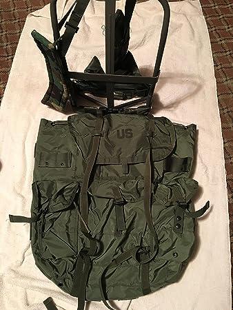 usgi military large olive drab alice pack w straps frame pad
